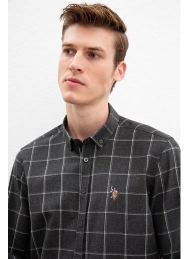 U.S. Polo Assn. Gömlek Antrasit